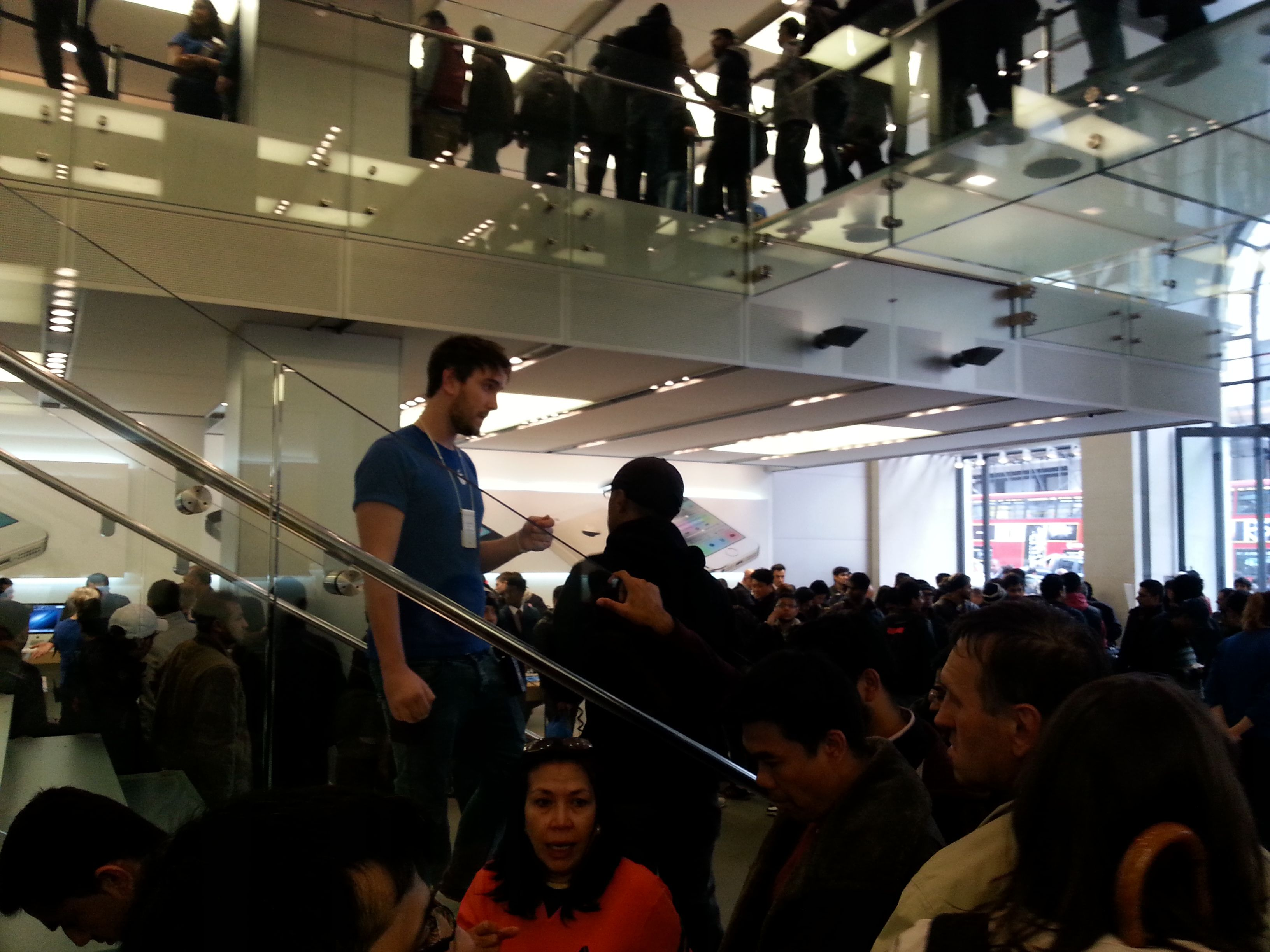 I Apple Store.
