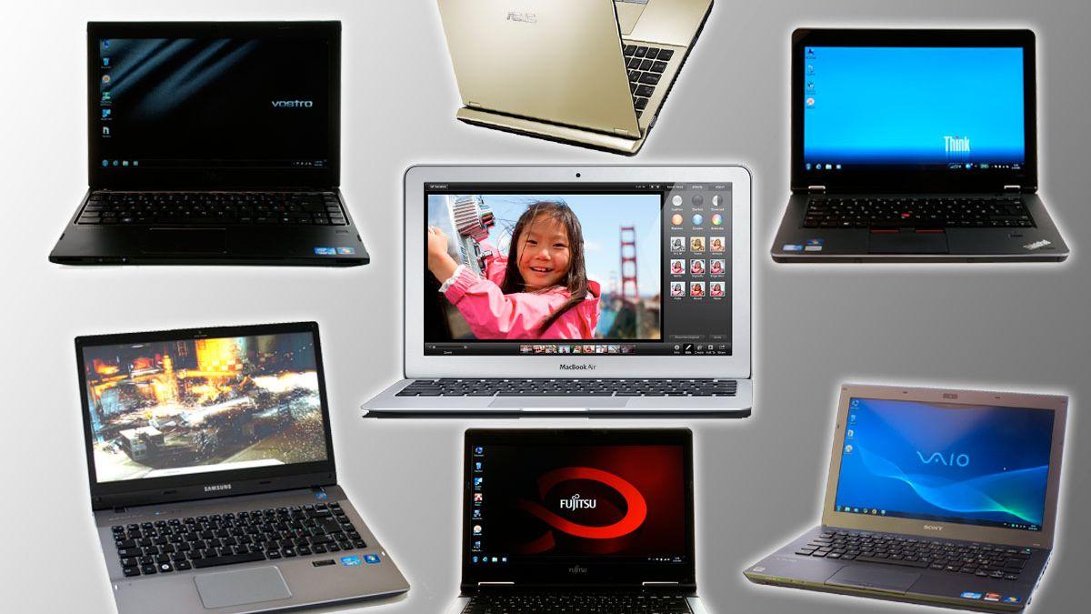 """Syv bærbare PCer under 15"""""""