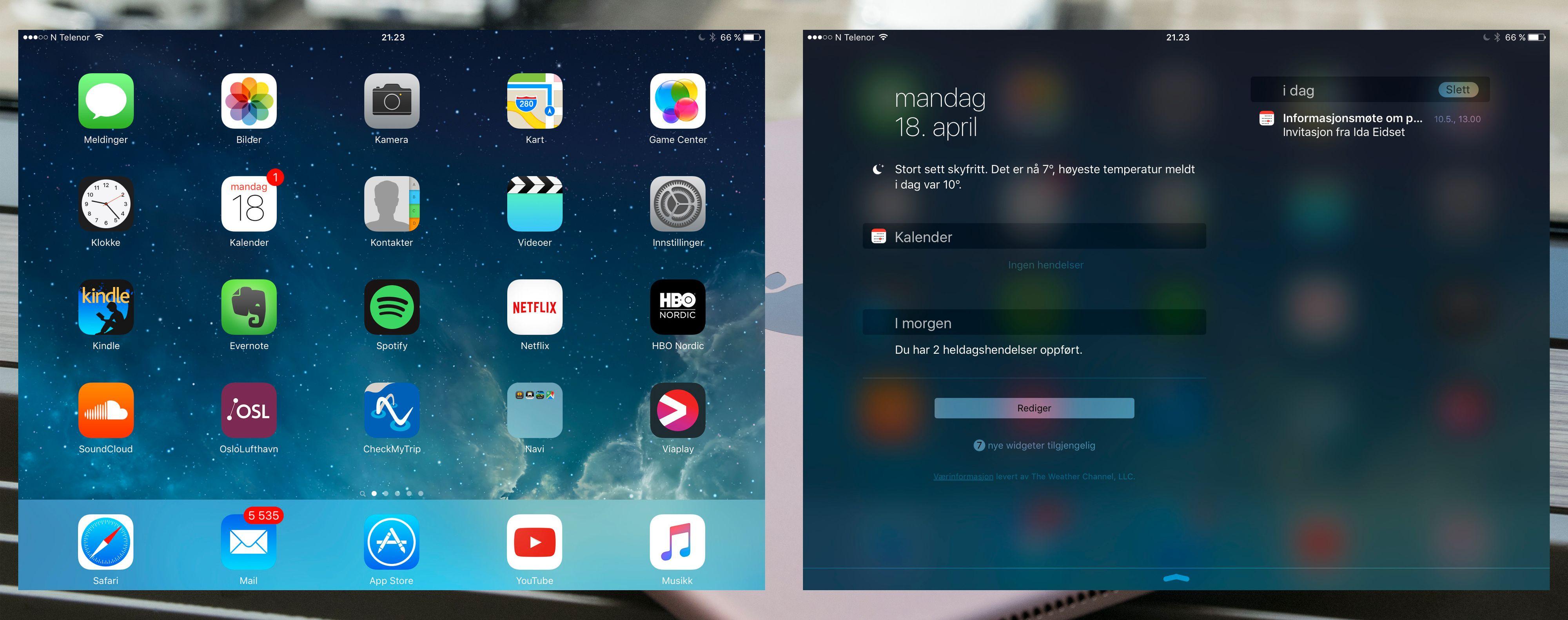En iPad Pro er fortsatt en iPad. Menymessig betyr det på mange vis en forvokst iPhone. Og den har sine begrensninger for proffbruk. Blant annet mangler den et fullverdig filsystem, men ved hjelp av riktige apper, for eksempel Dropbox, kan man etter hvert klare seg noenlunde greit uten slike ting bygget inn.