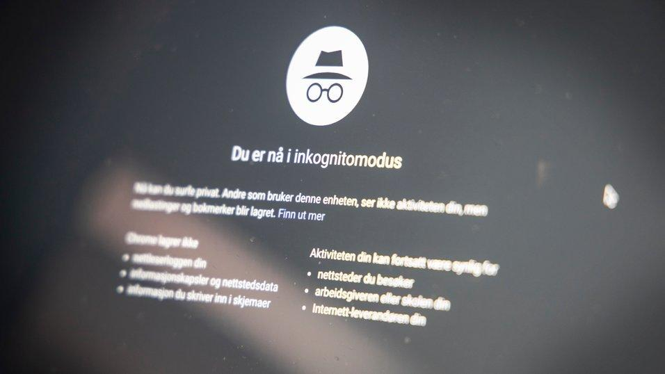 Chrome tetter Inkognito-hull