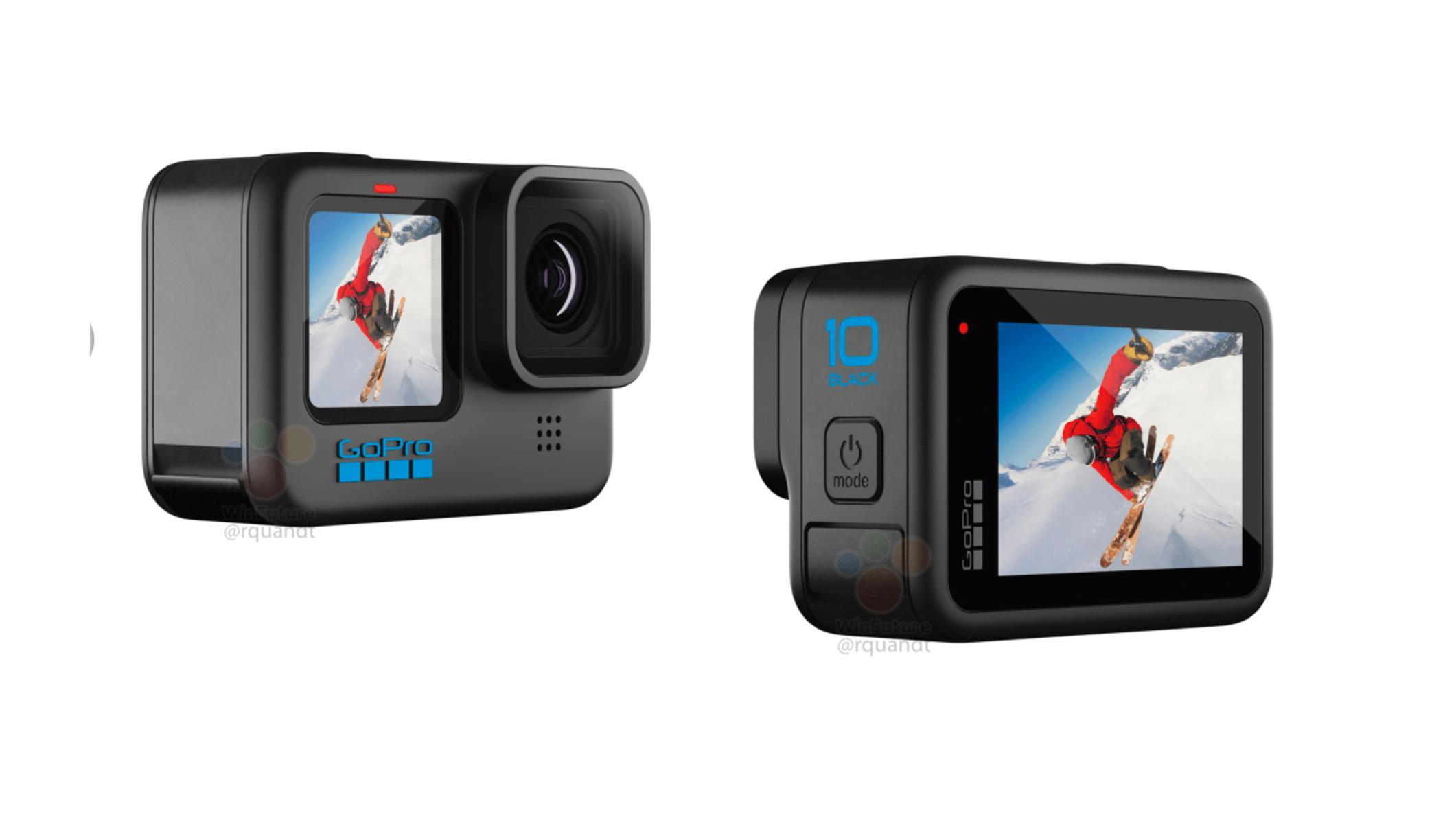 GoPro Hero 10 Black skal blant annet komme med ny prosessor som gir mulighet for kjappere bildefrekvens i video.
