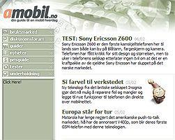 Amobil anno 2004. Klikk på bildet for å se eldre utgaver av Amobil.no.