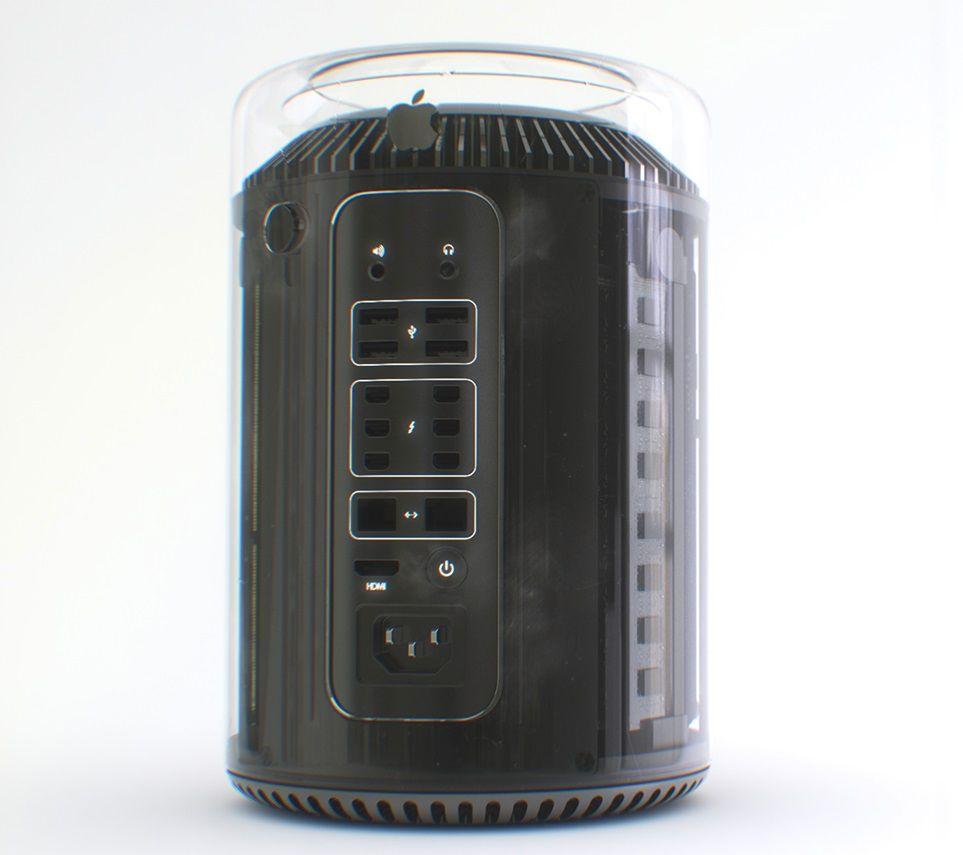Mac Pro med glass-kabinett.Foto: Martin Hajek