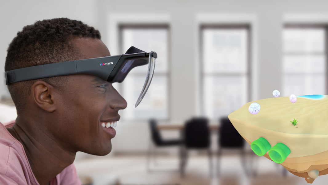 Disse rimelige brillene gir deg utvidet virkelighet ved hjelp av en iPhone