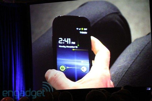 Android 2.3, eller Gingerbread, skal være ventet i løpet av