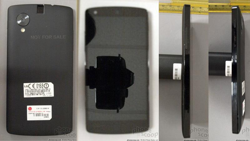 Disse bildene dukket tidligere opp i en FCC-søknad.Foto: Phonescoop.com