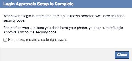 Facebook - steg 9.Foto: Tek.no