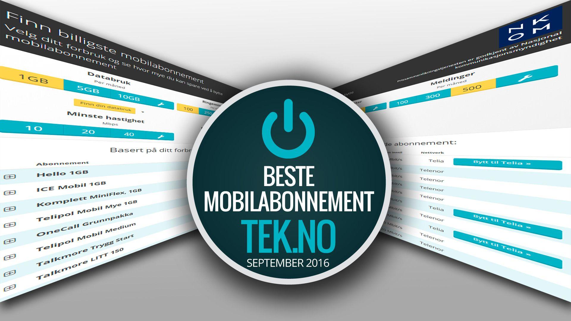 Dette er månedens beste mobilabonnementer