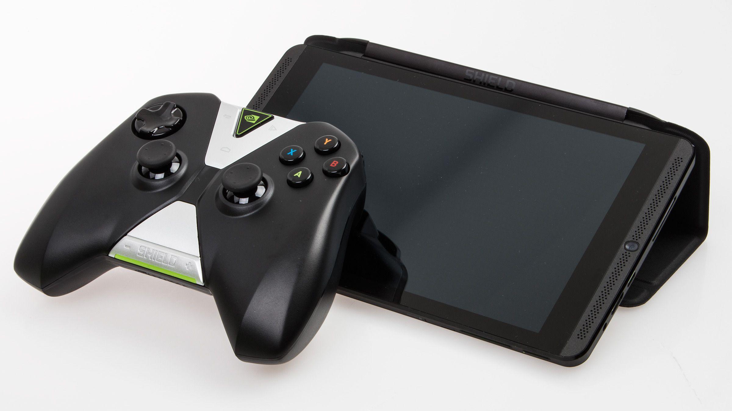 Nvidia Shield Tablet med Shield Cover og Wireless Controller.Foto: Varg Aamo, Hardware.no