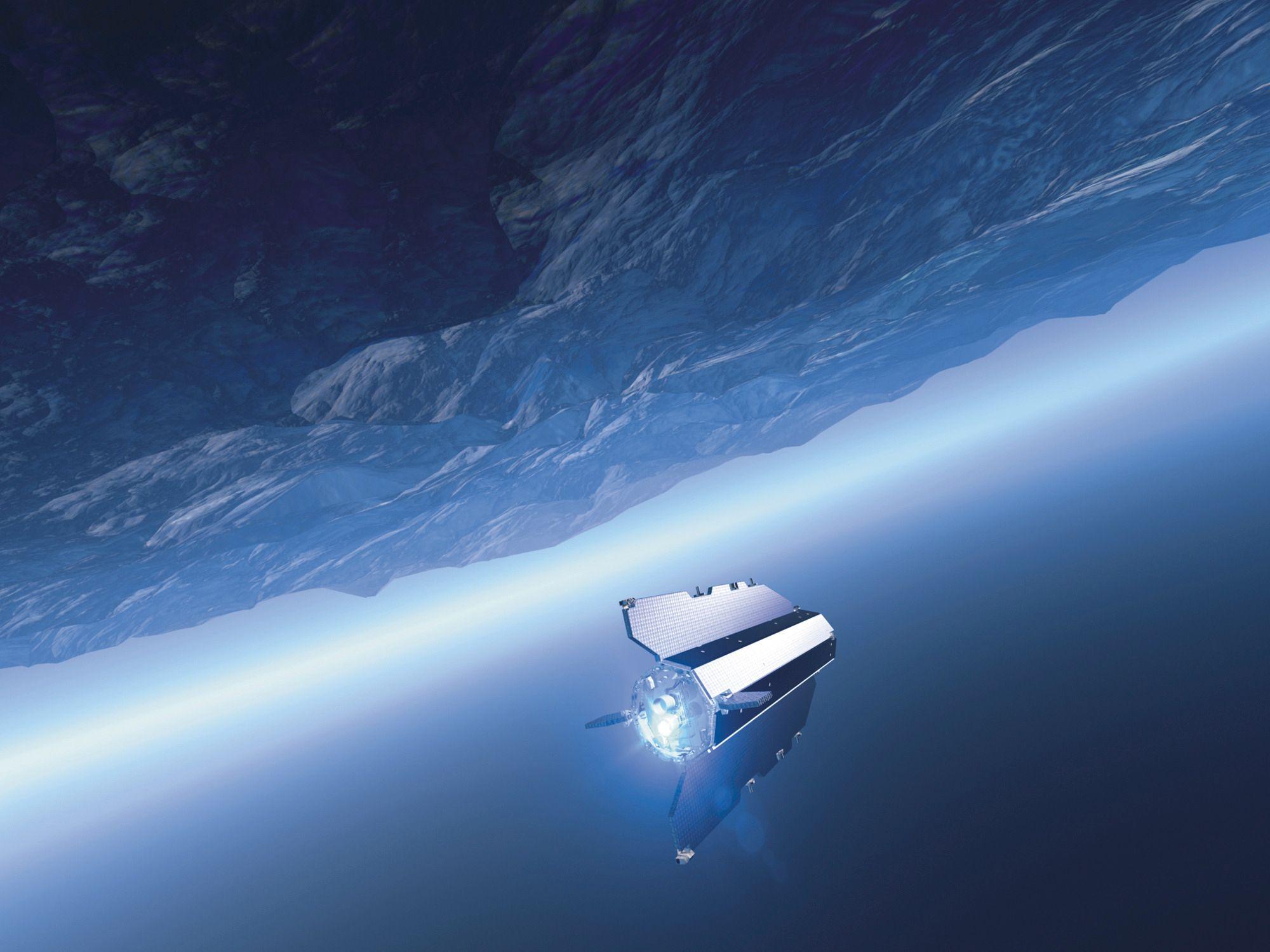 The Gravity Field and Steady-State Ocean Corculation Explorer (GOCE) ble sendt opp i 2009 for blant annet å kartlegge geoiden med én til to centimeters nøyaktighet.