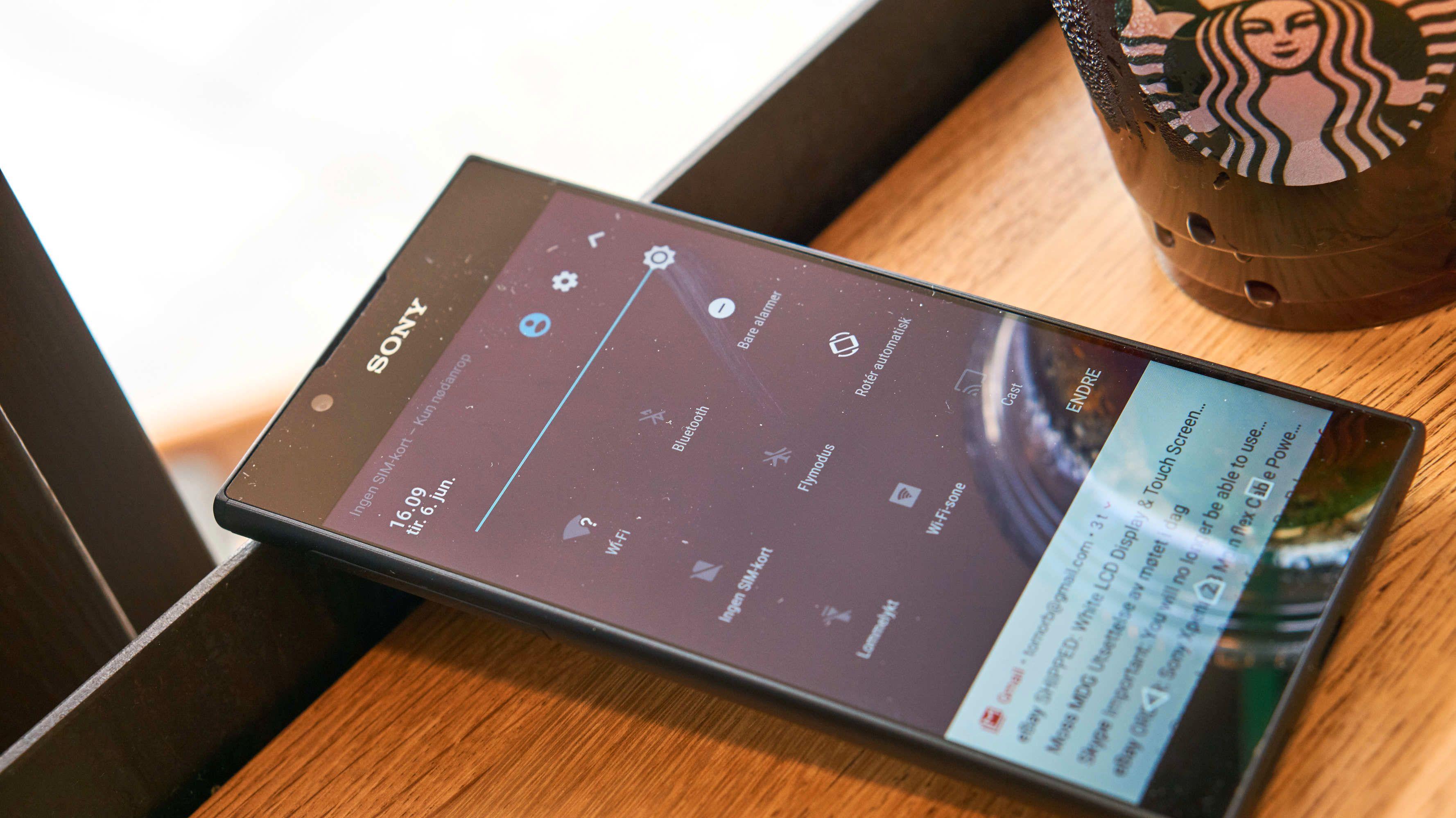 Android er ganske standard på Sonys telefoner.