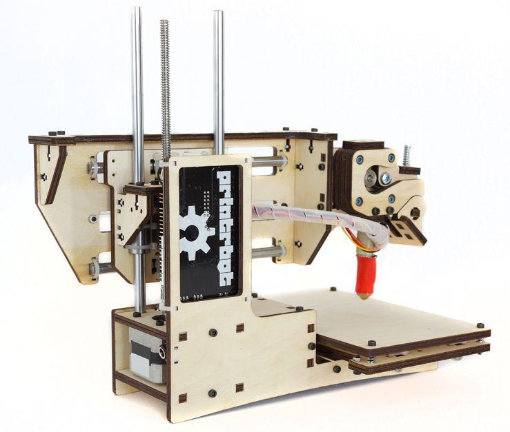 Den billige veien til 3D-skriver: Printrbot Simple.Foto: Printrbot