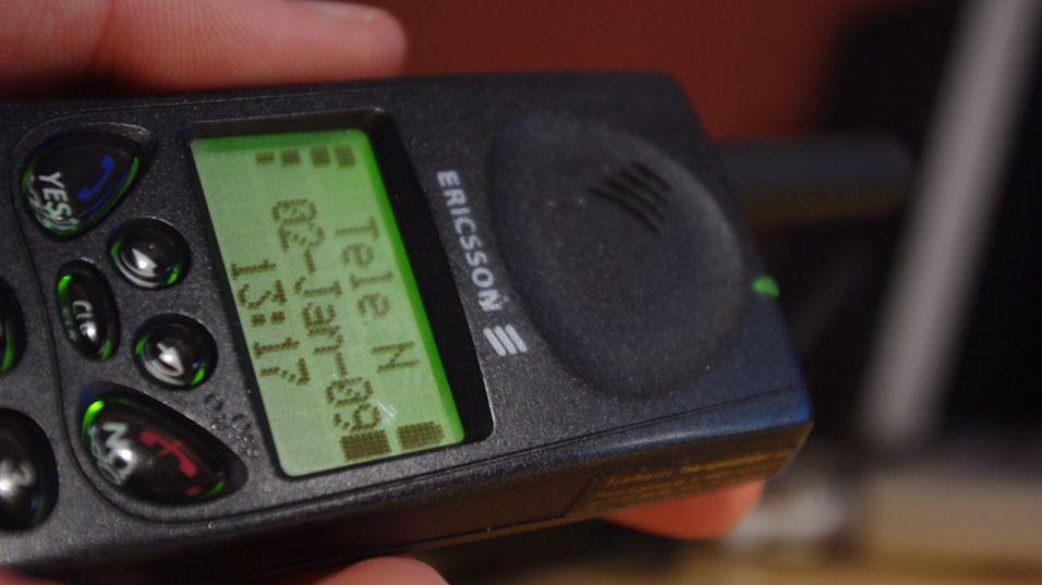 For mange var GH 688 det første møtet med Ericssons mobiltelefoner.