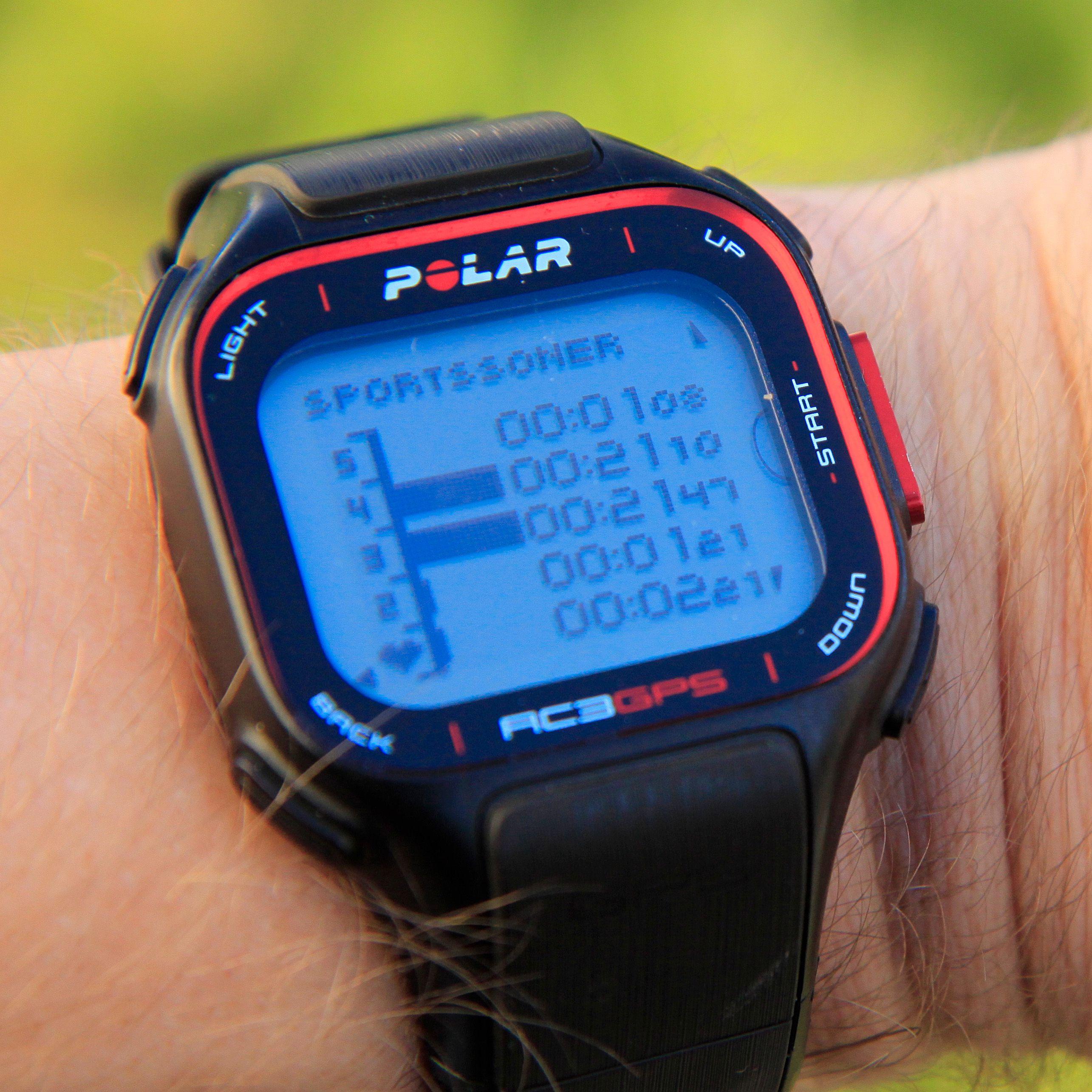 Under eller etter løpet kan du se hvor lenge du har løpt i de ulike pulssonene.Foto: Kurt Lekanger, Amobil.no