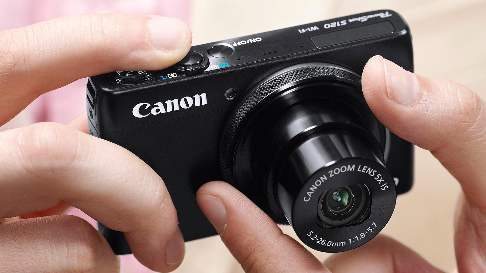 Canon PowerShot S120: Hendig knøttkamera.Foto: Canon