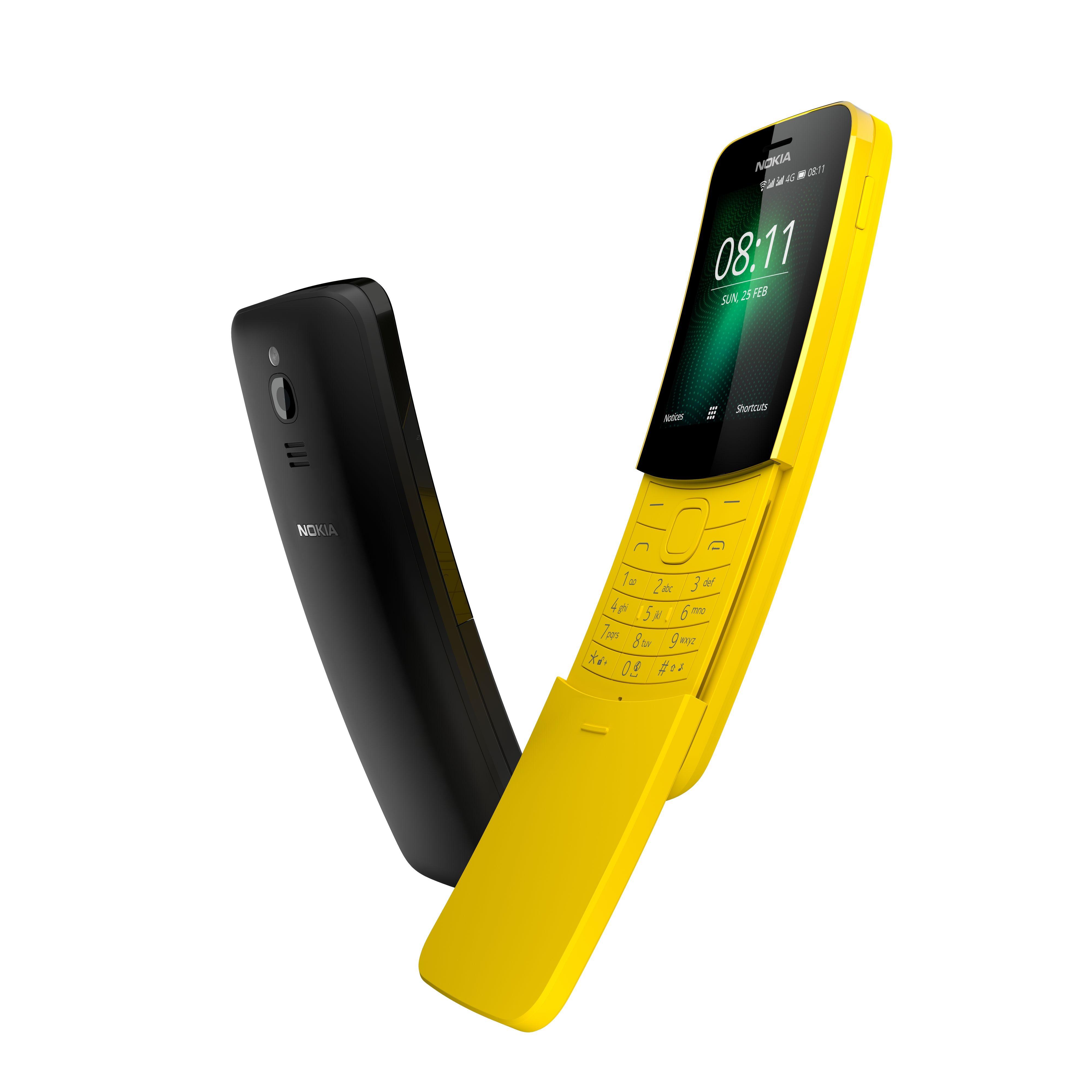 Nokia 8110 4G er ikke en tradisjonell smarttelefon, men den kan kjøre en del viktige Android-apper likevel.