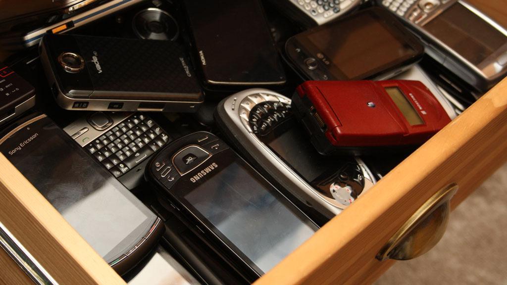 Nå hentes de gamle mobilene dine