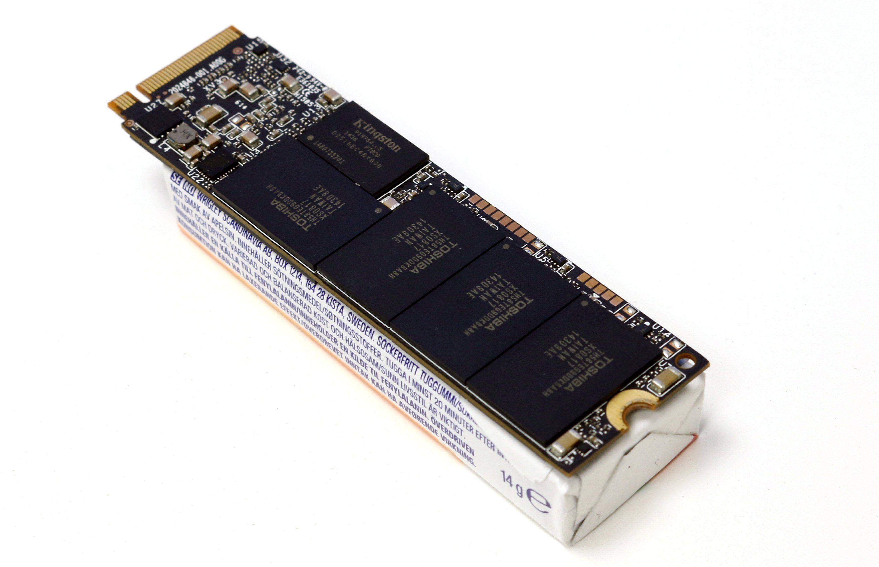 En M.2-SSD er liten, men ikke liten nok. Bilde: Vegar Jansen, Tek.no