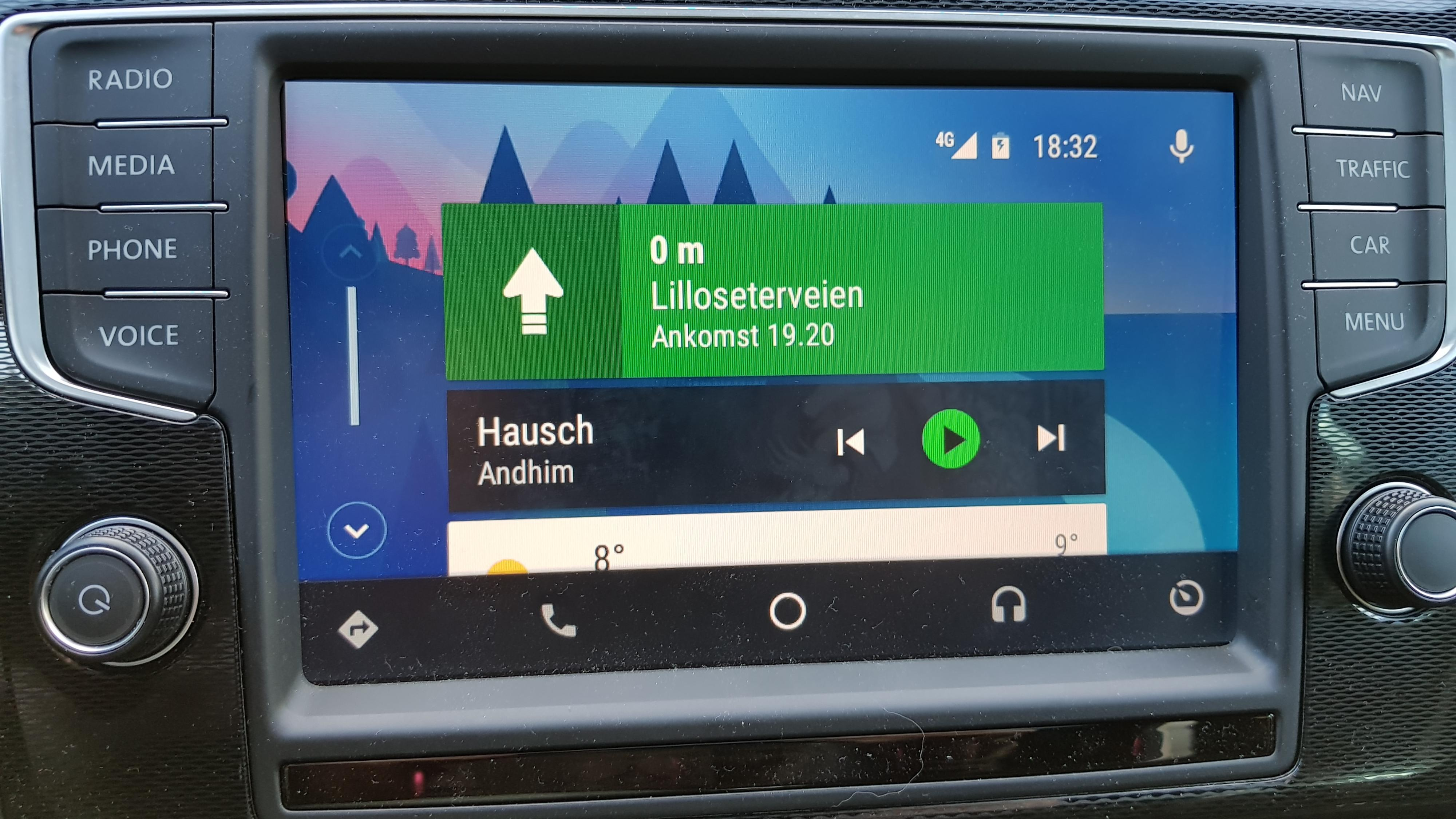 Android Auto er omsider på plass i Norge