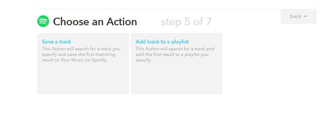 Wow, IFTTT, kan vi gjøre alt dette med Spotify? Imponerende. Eller ikke.