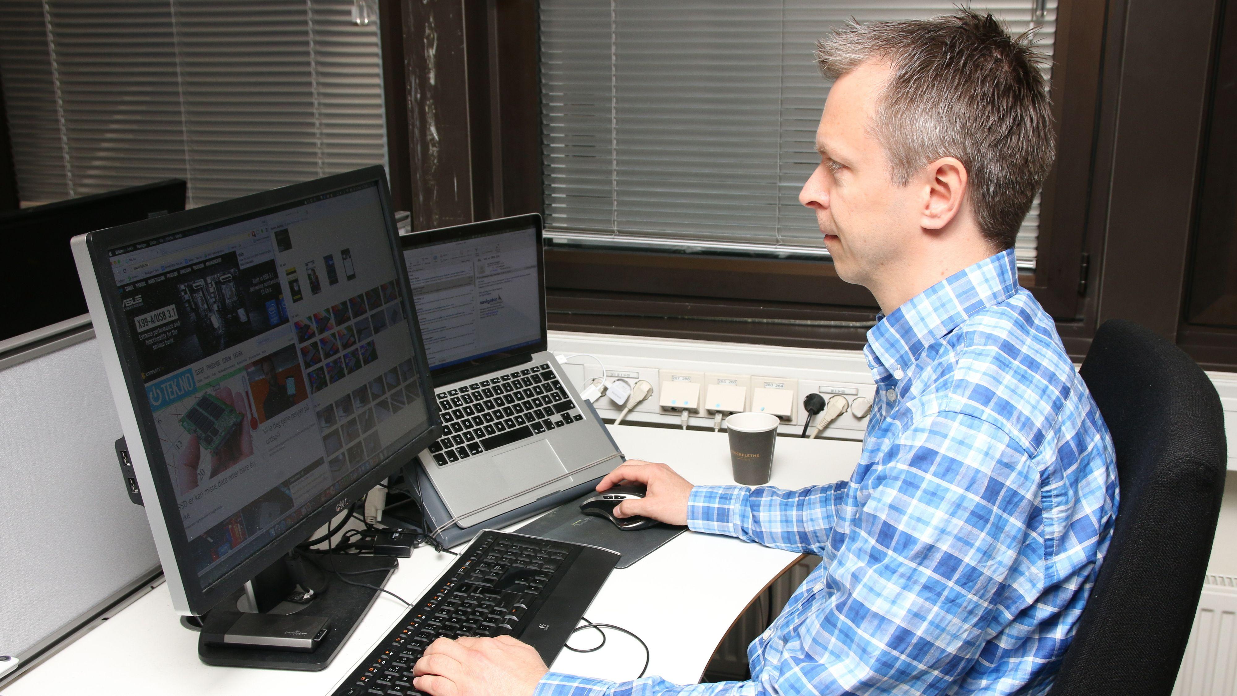 – Hjelp, jeg må bytte ut Mac-en med en Chromebook