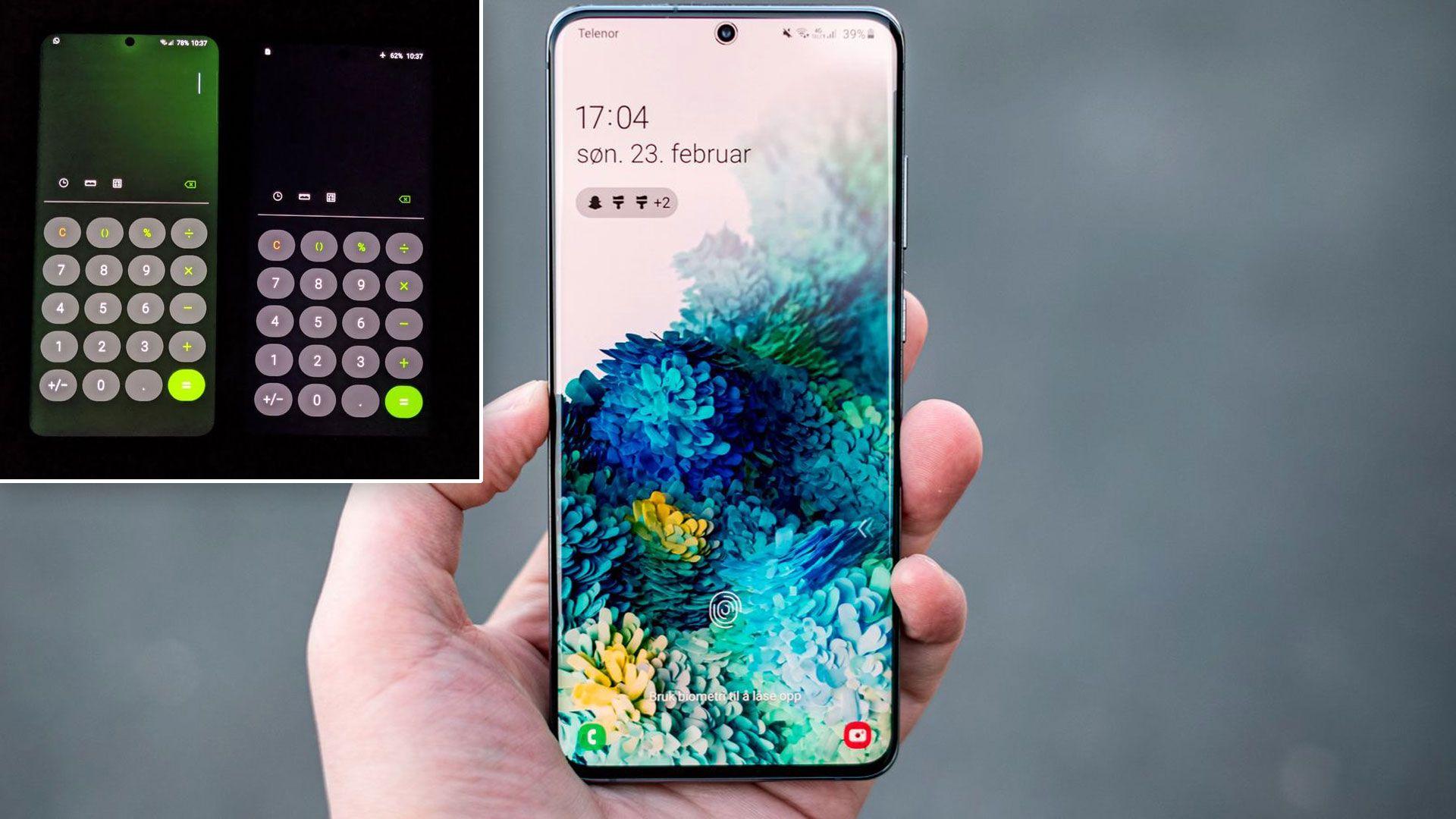 Samsung fikser grønne skjermer med oppdatering