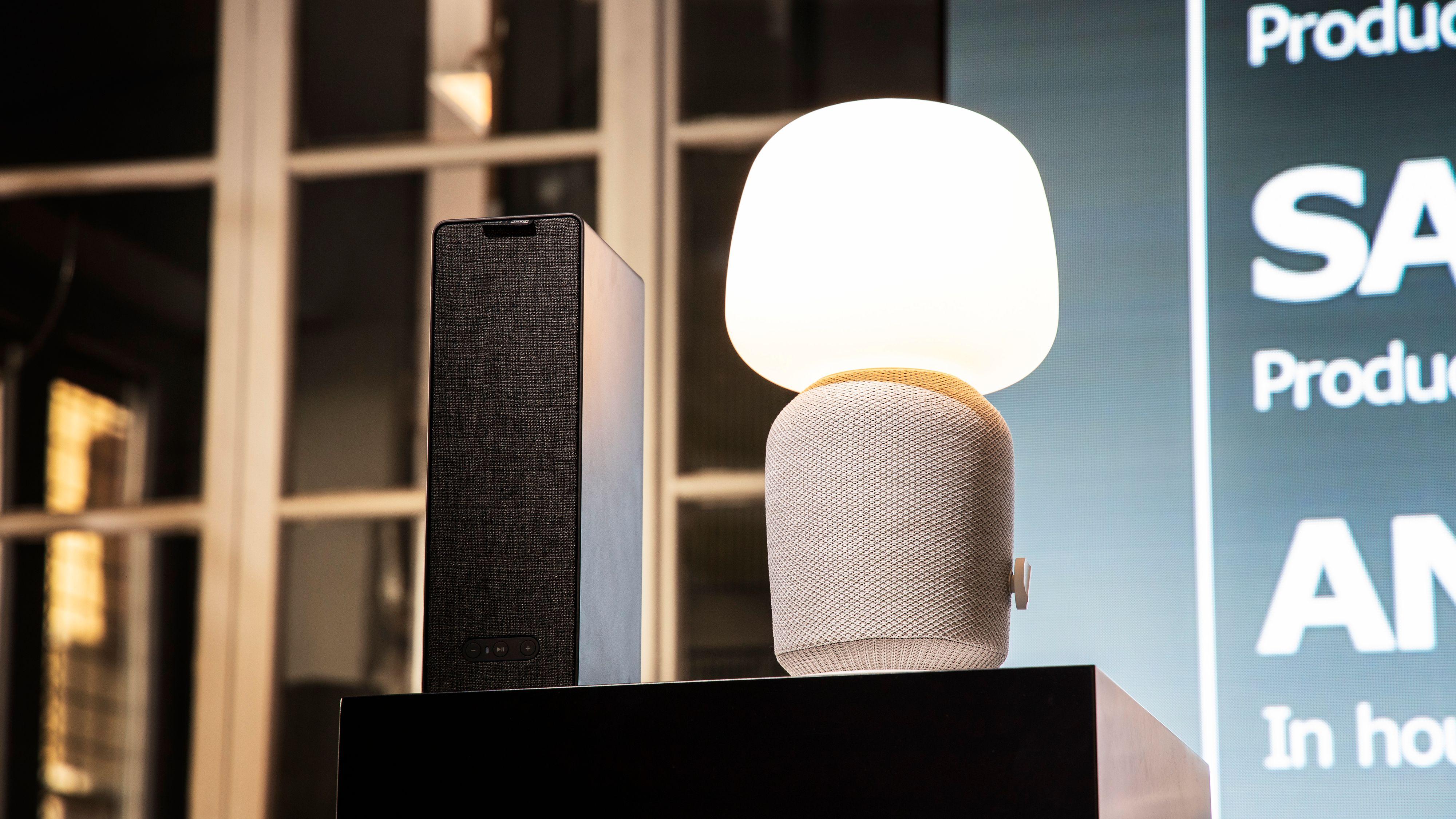 Ikeas samarbeid med Sonos har så langt resultert i en høyttaler og en kombinert bordlampe og høyttaler. Det kommer mer.