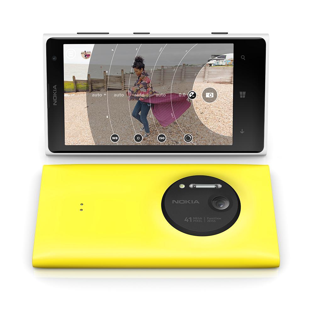 Nokia Lumia 1020 er bygget i plastmaterialet polykarbonat.