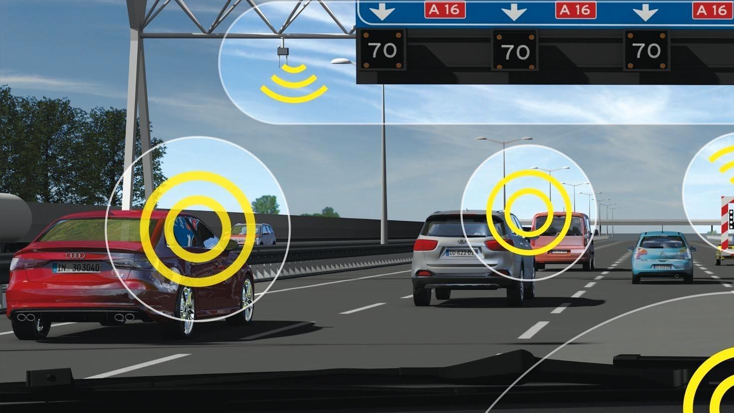 Vi fikk demonstrert fremtidens trafikksystem med en lekebil