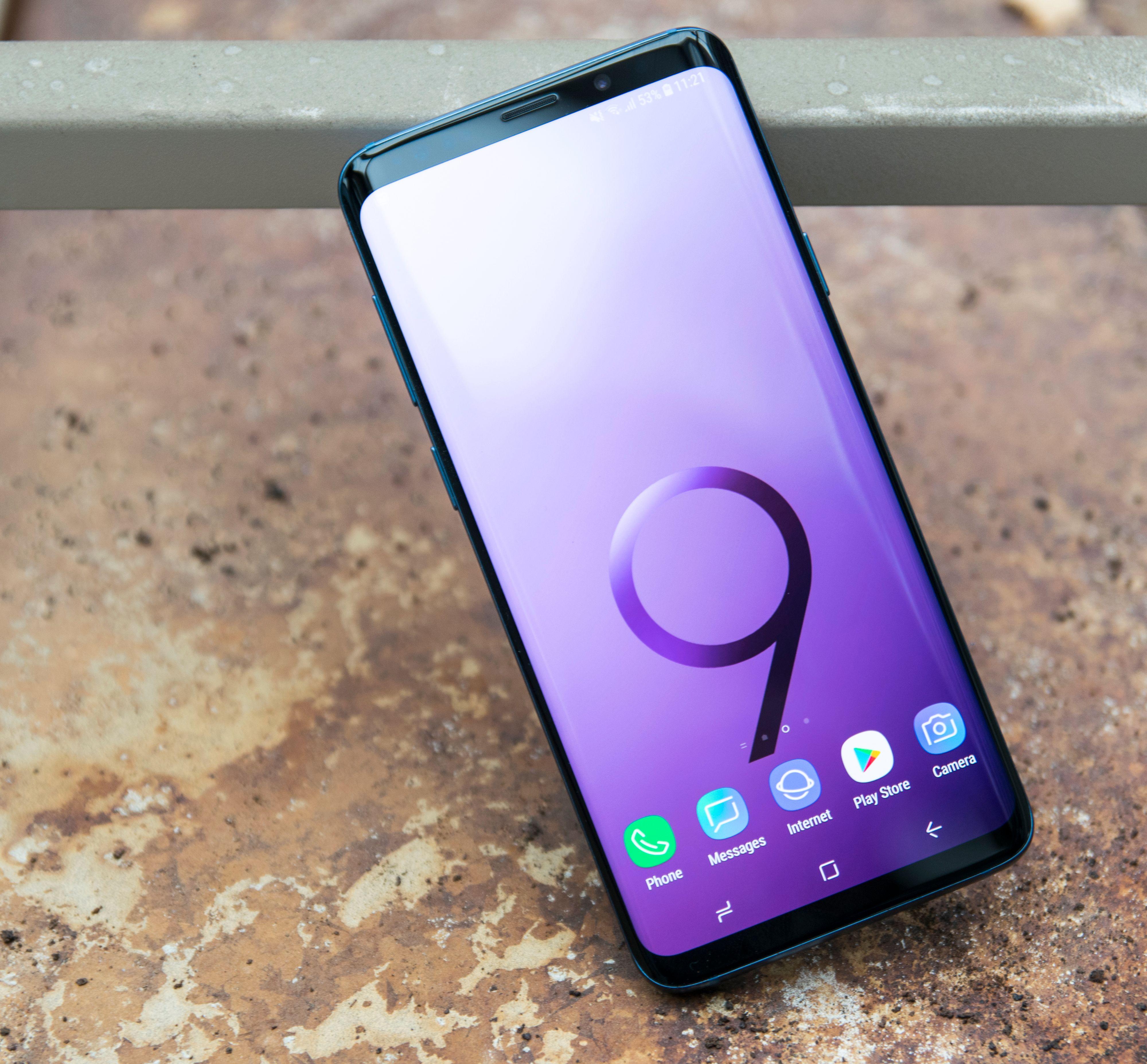 Samsung Galaxy S9 kom samlet sett best ut av Testfaktas test, som altså kun tar for seg kulde, støt, vann og batterilading.