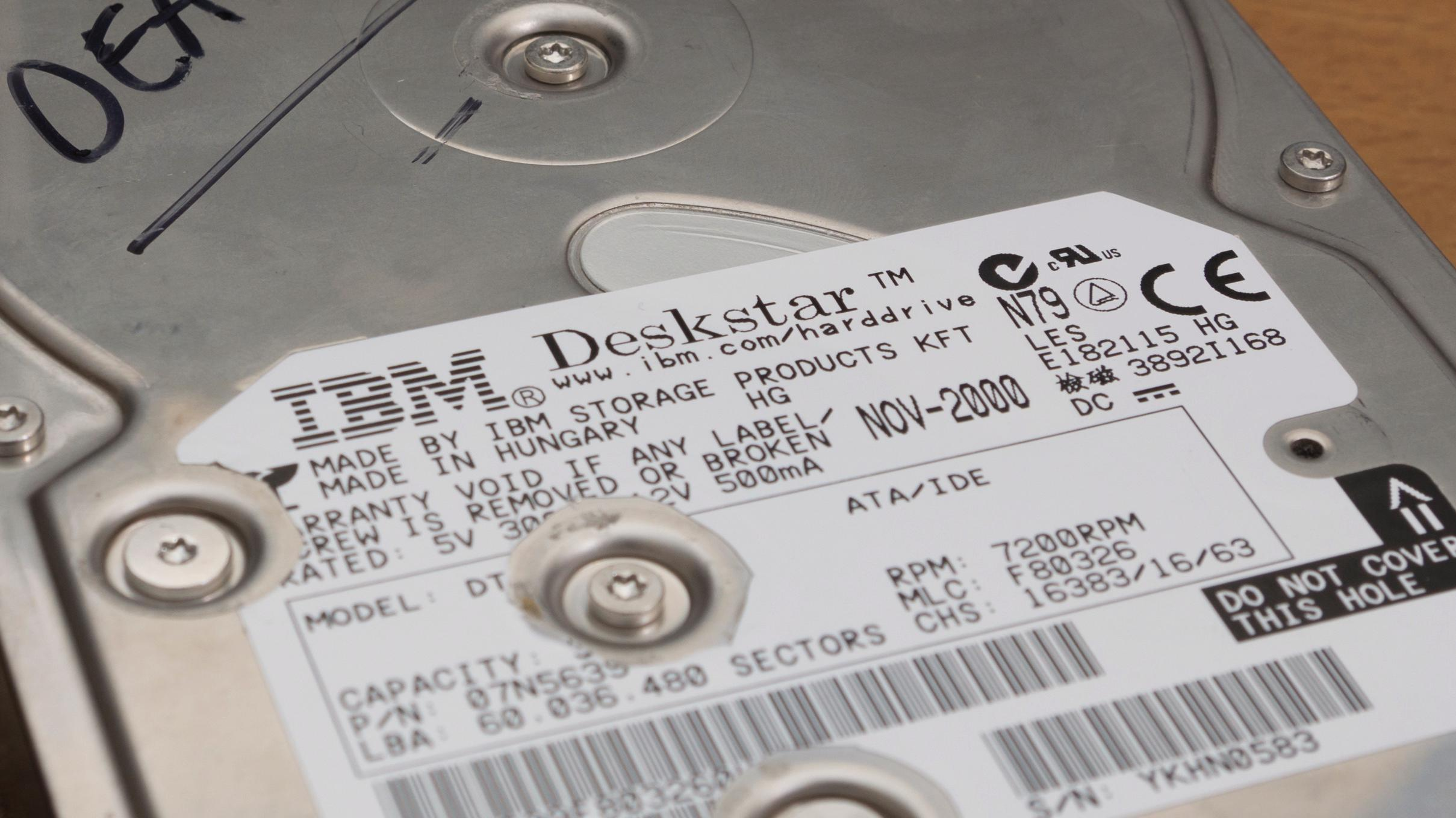 Dødsdisken som lagde skikkelig hodepine for IBM