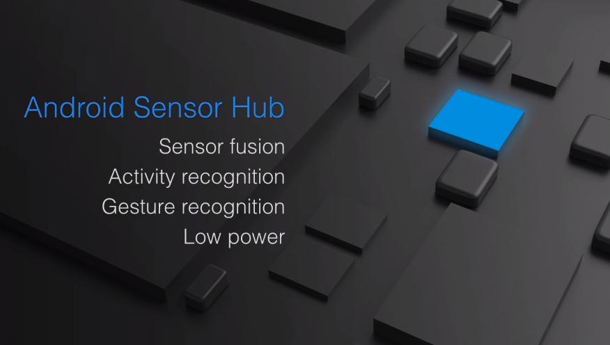 Sensor Hub skal visstnok gjøre mye rart, men vi er litt usikre på nøyaktig hva. Foto: Skjermdump/Google