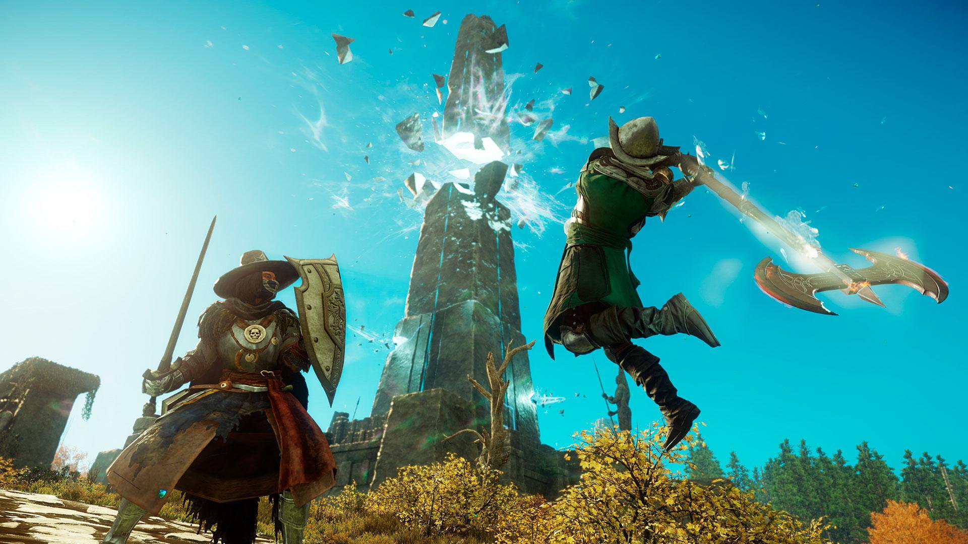 Amazons onlinespill New World sender grafikkort i knestående