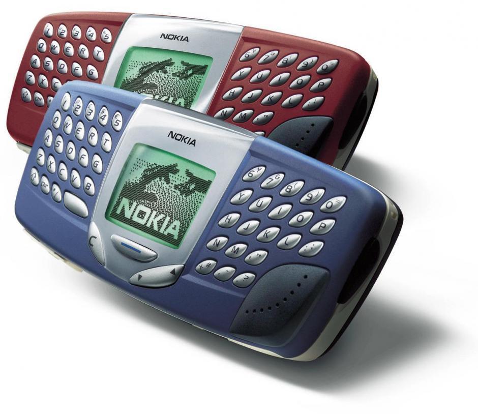 Nokia 5510 har qwerty-tastatur. Særlig populær ble den aldri.
