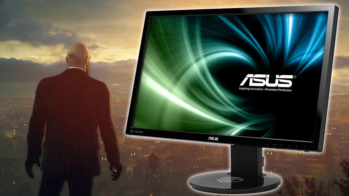 Asus viser frem en lynrask spillskjerm