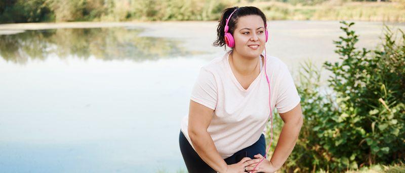 Går det att träna sig ner i vikt?