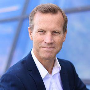 Anders Krokan, konstituert kommunikasjonsdirektør i Telenor.