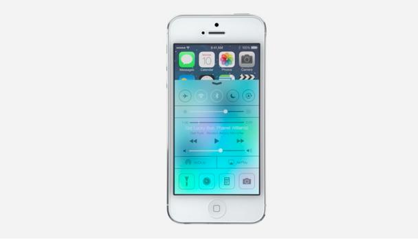 Nye fargepallett og rene linjer i iOS 7.Foto: apple