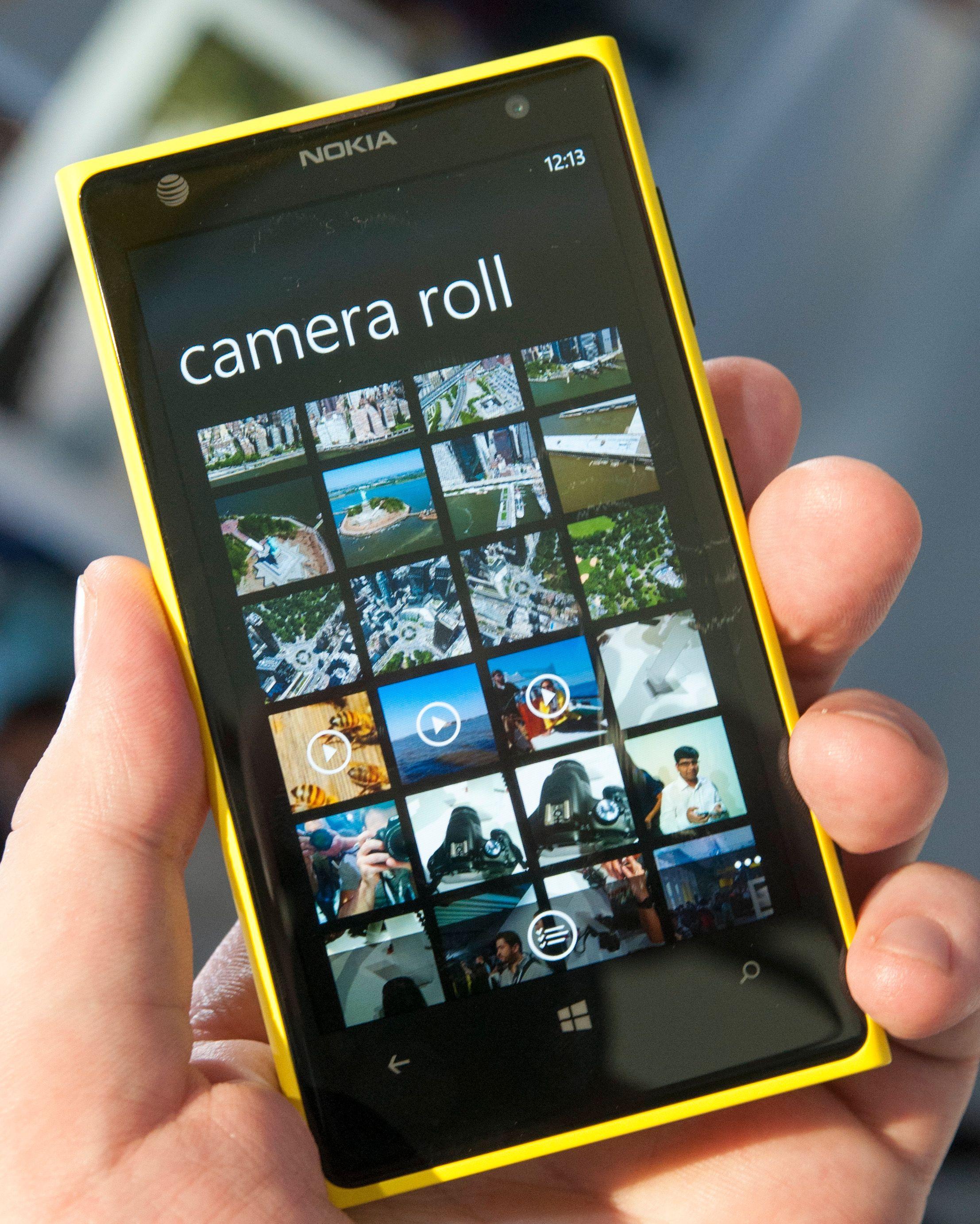 Galleri-appen i Lumia 1020 ser ut slik den pleier på Windows Phone.Foto: Finn Jarle Kvalheim, Amobil.no