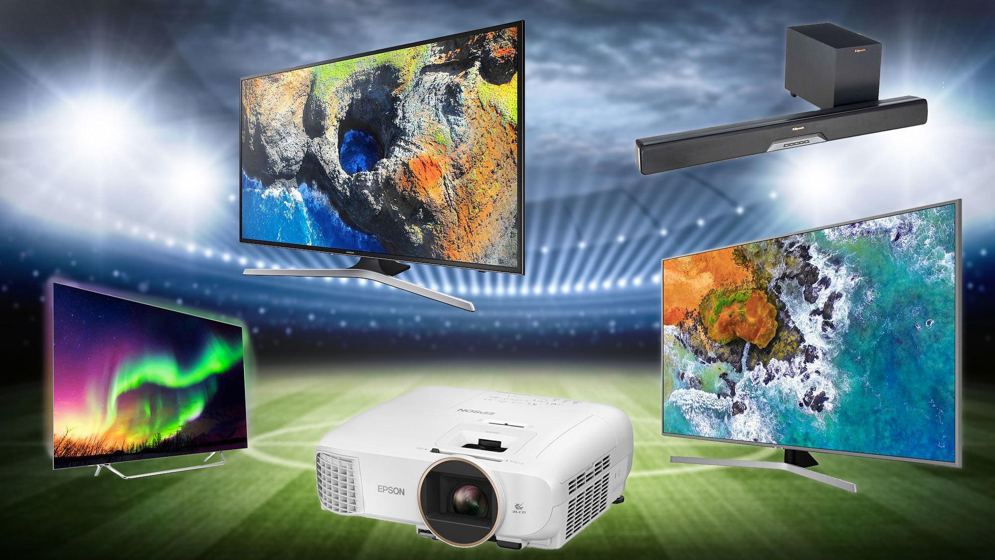 Ny TV, projektor eller lydplanke til VM? Disse er best