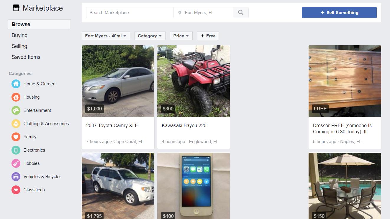 Facebook lanserer Finn.no-konkurrent i Norge
