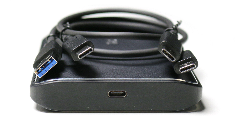 SanDisk Extreme 900 har USB 3.1 Gen 2 Type-C og kommer med to USB-kabler inkludert.