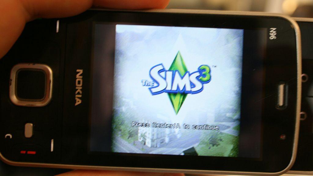 Sniktitt: The Sims 3 på N-Gage