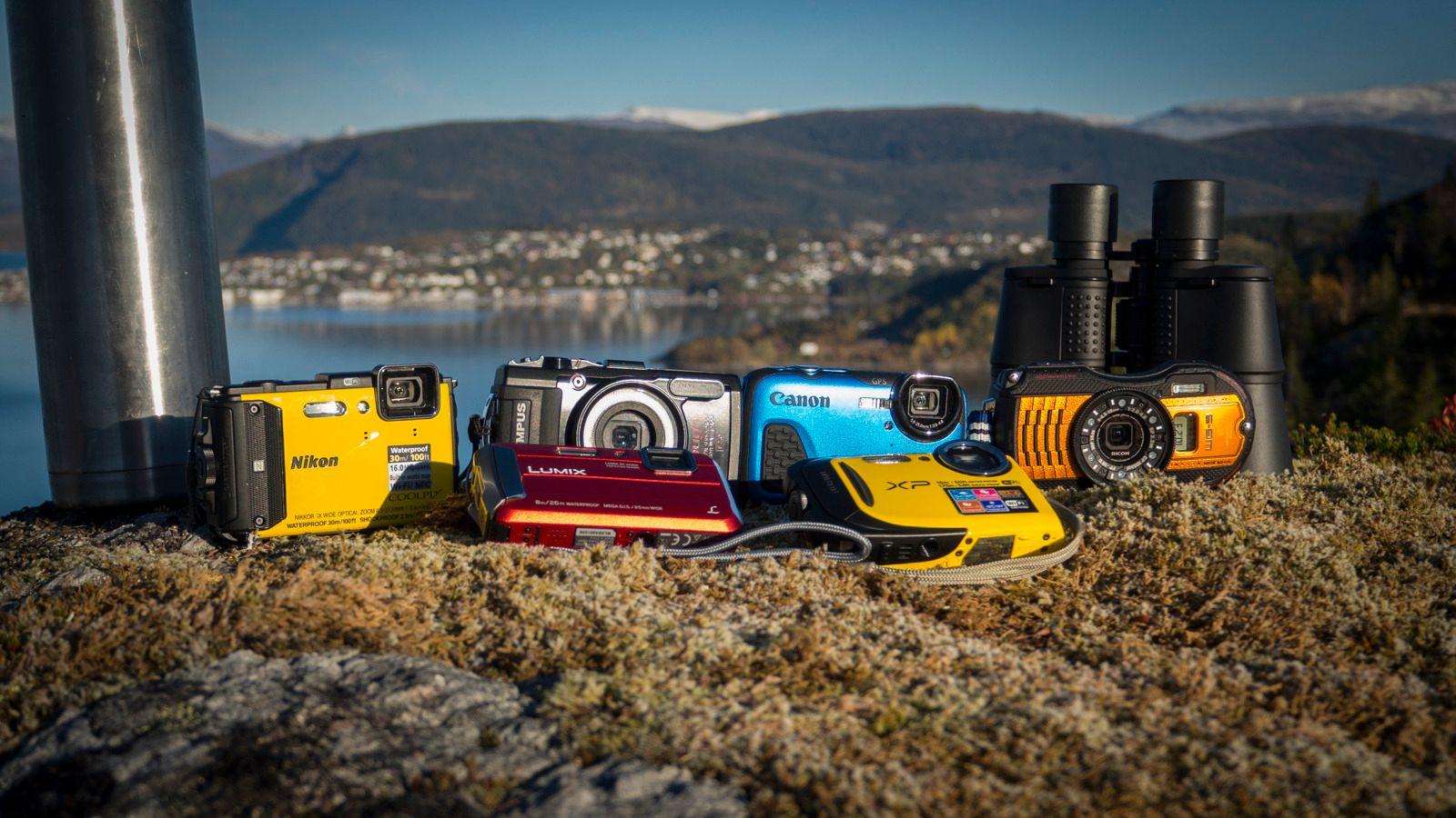 Vanntette, robuste kompaktkameraer