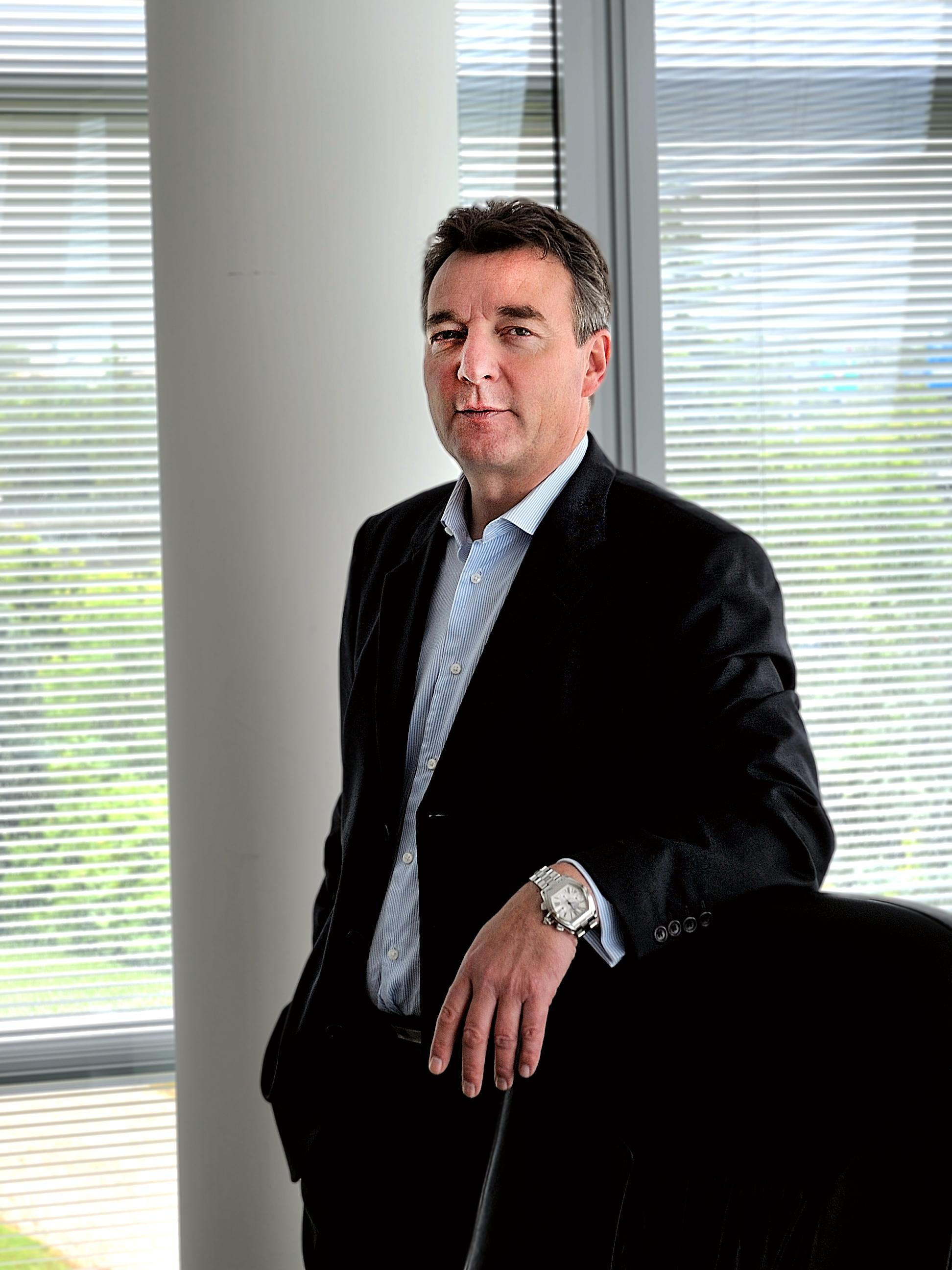 Administrerende direktør Didier Lamouche i ST-Ericsson.Foto: ST-Ericsson
