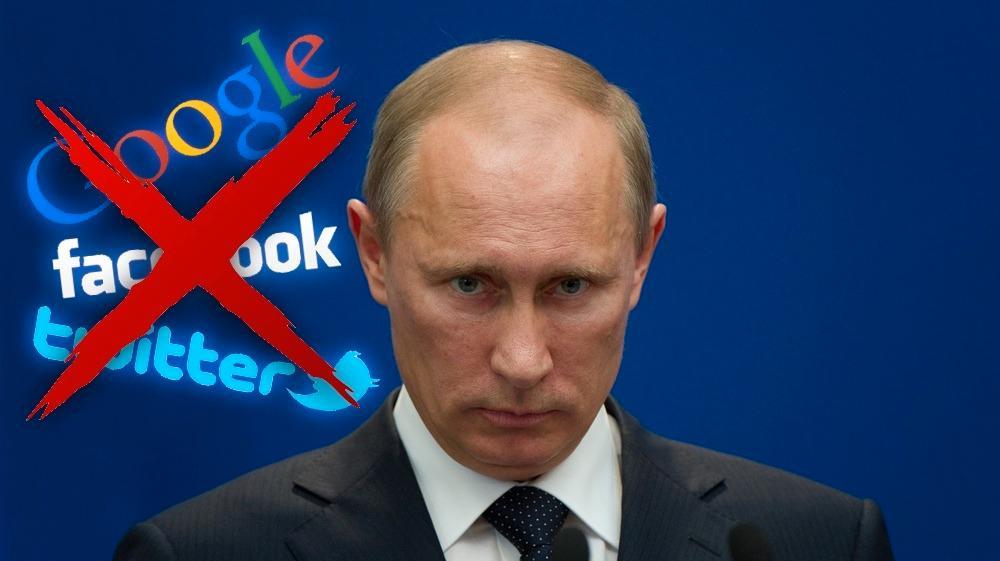 Russland krever retten til å sensurere Facebook, Twitter og Google