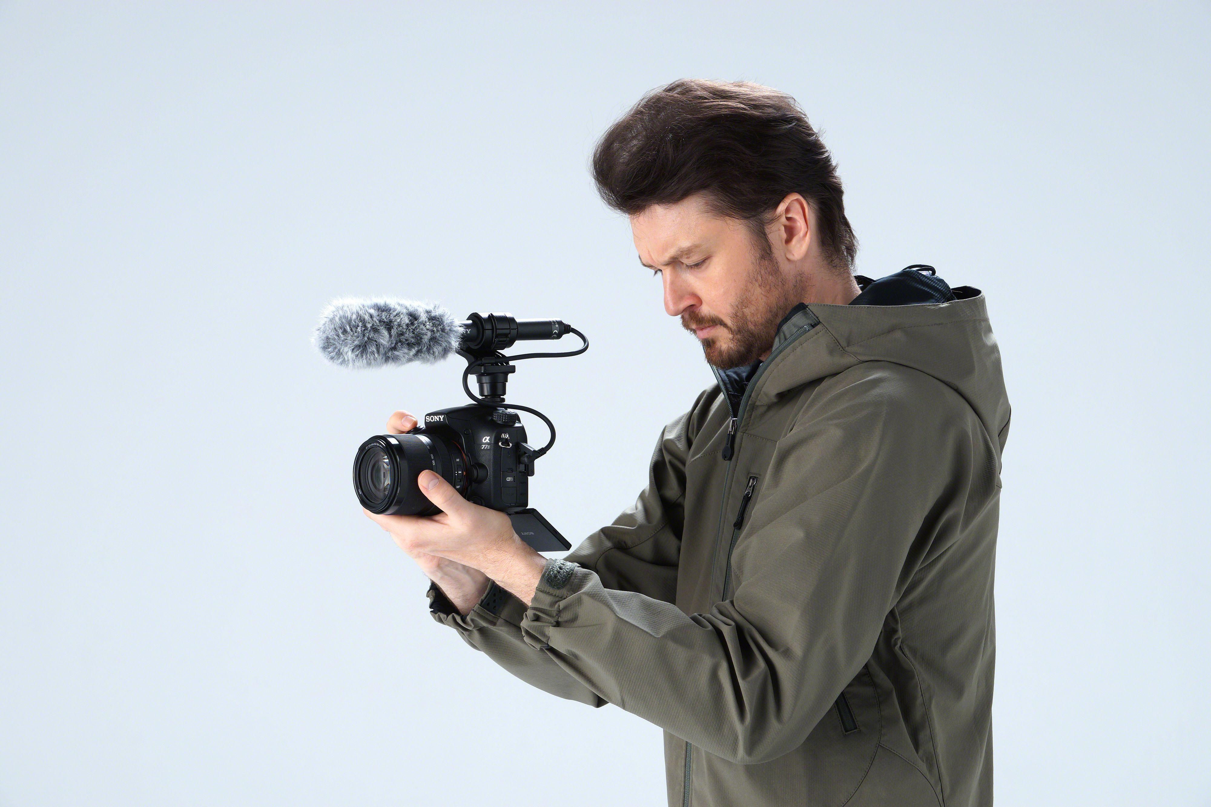 Videoopptak kan A77 Mark 2 selvsagt også gjøre.Foto: Sony