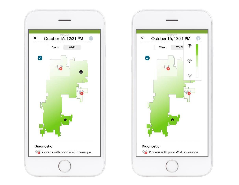 Funksjonen vil eksistere side om side med Clean Map-funksjonen. Bilde: iRobot