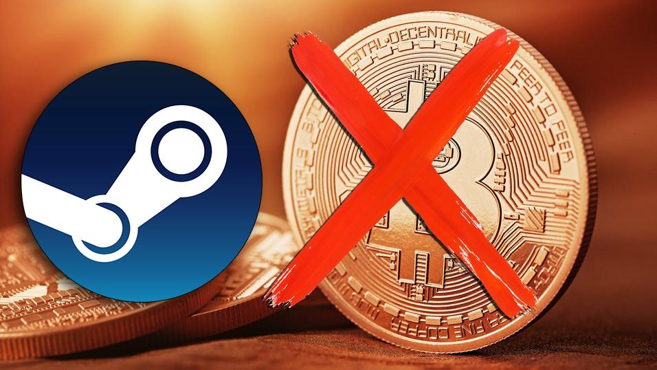 Steam stenger for Bitcoin-betaling