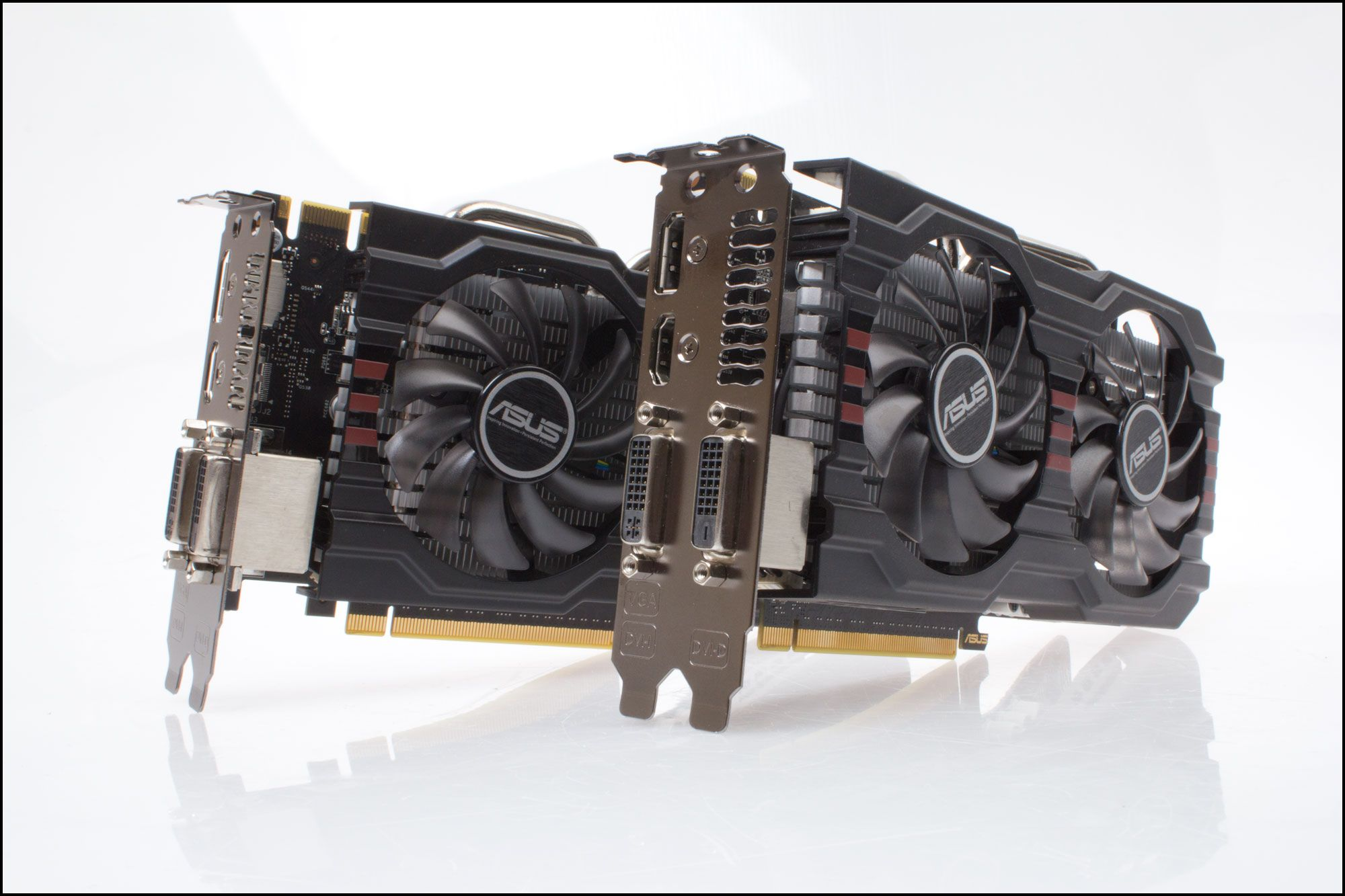 Asus GeForce GTX 650Ti BOOST DirectCU II OC.Foto: Varg Aamo, Hardware.no